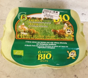 100% guaranteed organic. 6 eggs per pack.