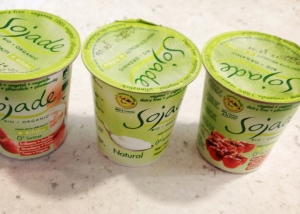 soy yoghurt  3 flavors: - natural - strawberry - cherry