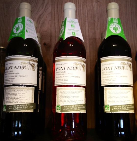 New: 100 % Organic Wine. Eco Attitude certificate.